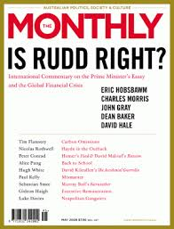 the rudd essay amp the global financial crisis part iii  the monthly cover may