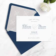 Save The Date No Photo Olivia Save The Date Cards Luxe Quality Seventh And Anderson