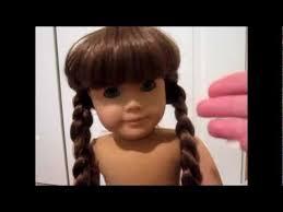fix american dolls frizzy hair