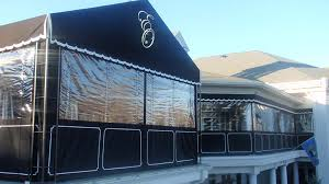 charming porch plastic curtains designs with custom enclosures for your deck porch or patio