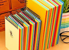 Download Notebook With Colored Pages Getwallpapersus