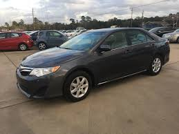 2014 Used Toyota Camry 4dr Sedan I4 Automatic LE at Car Guys ...