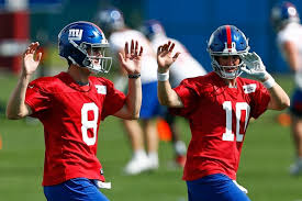 Ny Giants Qb Depth Chart Giants Ota No 1 Practice Report