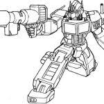Small Picture Optimus Prime Coloring Pages Print Bebo Pandco