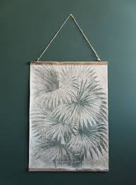 Vintage Wall Chart Palm Leaves Vintage Wall Chart