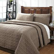 taupe bedding taupe textured 3 piece cotton quilt set black and taupe king bedding taupe bedding sets uk