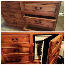 hidden bar furniture. dresser turned into hidden mini fridge bar kept the drawers on left intact furniture