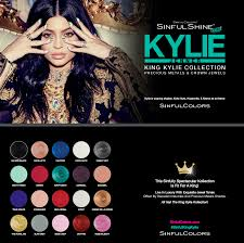 sinfulcolors kylie jenner nail polish collection beauty for moms
