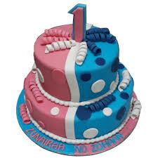 Twins Cake Online For Birthday Best Design Doorstepcake