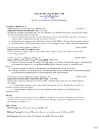 Sample Nurse Resume Sample Nurse Resume Labor And Delivery New Nursing Objective 91