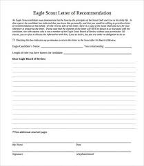 eagle scout candidate letter of recommendation download free eagle scout letter of re mendation 9 download top