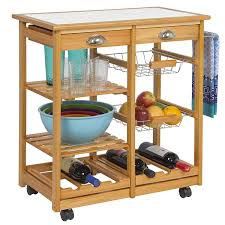 Kitchen Island Cart With Granite Top Kitchen Cabinets Kitchen Island Cart Bed Bath Beyond Winsome Wood
