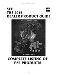 Nockturnal Fit Chart Pse Hunting Equipment Product Guide Manualzz Com