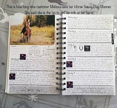 Daily Planners 2015 2020 2020 Horse Savvy Day Planner Equine Health Care Records