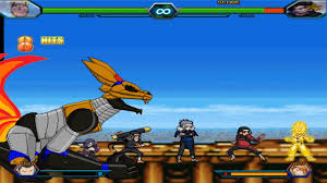 Mecha Naruto (and Hokages) VS Goruto - Bleach Vs Naruto 3.3 (Modded)