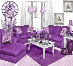 Purple Living Room Furniture Perfect Purple Living Room Furniture For Home Design Planning With