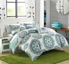 amazoncom chic home barcelona  piece reversible comforter set