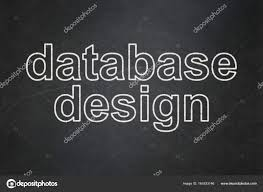 Chalkboard Background Programming Concept Database Design On Chalkboard Background