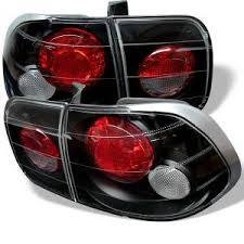 Spyder <b>Auto</b> Honda Civic 96-98 4Dr Euro <b>Style Tail Lights</b> - Black ...