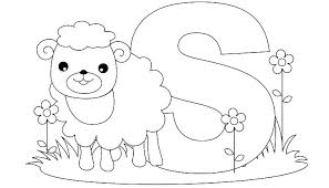 Abc Coloring Pages Letter I Coloring Sheet E Is For Elephant