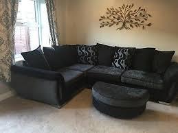 black grey corner sofa dfs shannon