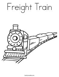 We have collected 37+ freight train coloring page images of various designs for you to color. Freight Train Coloring Page Twisty Noodle