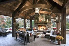 patio designs with fireplace. Patio Fireplace Ideas Covered With Chimney . Designs N