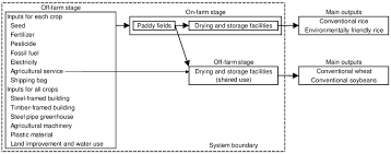 A Simplified Flowchart Of Crop Production In The Modeled