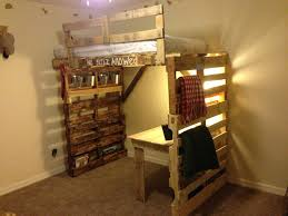Awesome Pallet Bunk Beds 70 Pallet Wood Bunk Beds 8073 Interior