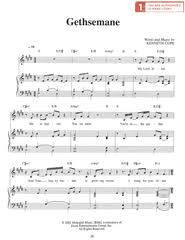 gethsemane sheet music broken sheet music deseret book
