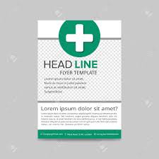 Green Brochure Template Green Medical Flyer Layout Template Brochure Background Leaflet