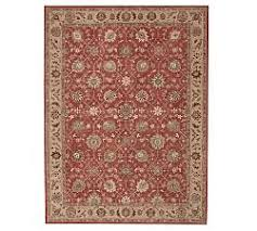 Persian rugs Silk Madeline Persian Rug Red Multi Living Spaces Oriental Rugs Persian Rugs Pottery Barn