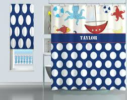 gallery pictures for zoom lighthouse nautical shower curtain hooks set