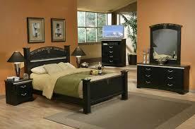 Queen Bed Dresser Mirror and Two Nightstands