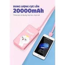 Sạc dự phòng YOOBAO S8Plus dung lượng 20000mAh chính hãng - Pin sạc dự phòng  di động Nhà sản xuất Yoobao
