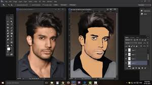 how to make your cartoon photos full tutorial step by step photo art creation you