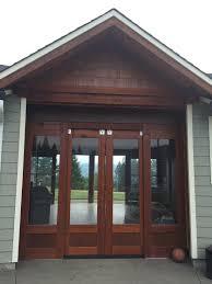 exterior barn doors w glass