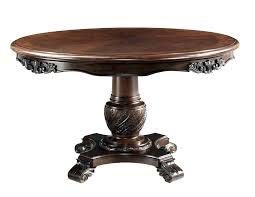 black pedestal table modern pedestal dining
