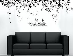 vinyl wall decals black stickers nursery and white