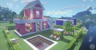 Ver más ideas sobre decoraciones minecraft, casas minecraft, minecraft. Cute Pink House Minecraft Minecraft Modern Minecraft Projects Minecraft