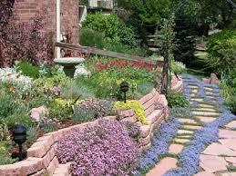 xeriscaped garden