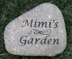 engraved garden stones. PERSONALIZED Garden Stone Engraved River Great Mother\u0027s Day Gift Idea 8-9 Stones