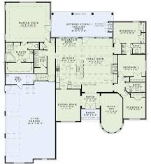 floor plans for 4 bedroom houses. european style house plans - 3052 square foot home , 1 story, 4 bedroom and 3 bath, garage stalls by monster plan car w/ storage for ray. floor houses