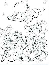Ocean Animals Color Pages Sea Animals Coloring Pages To Print Undersea Of Ocean Animal