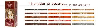Surya Brasil Color Chart Henna Cream Healthy Hair Color Surya Brasil Surya Brasil