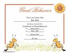 """A General """"you Did It"""" Certificate Of Appreciation For A Child ..."""