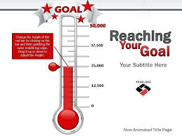 How To Make A Thermometer Goal Chart Fundraising Thermometer Jasonkellyphoto Co