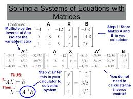 axb matrix calculator math solving a systems of equations with matrices math for kindergarten