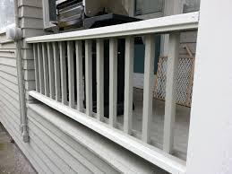 attaching wood railing to concrete porch forumrunner 20160330 155822 jpg