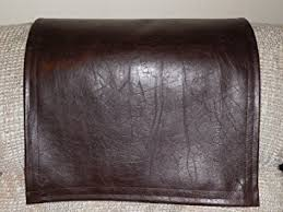 chair headrest cover. black friday cover special recliner headrest cover, furniture protector, chair pad, sf chocolate